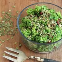 kale salad with goji berries
