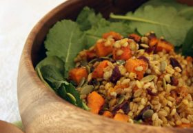 butternut barley salad