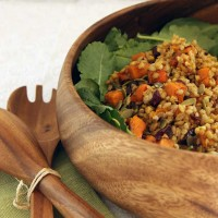 Butternut and Barley Salad
