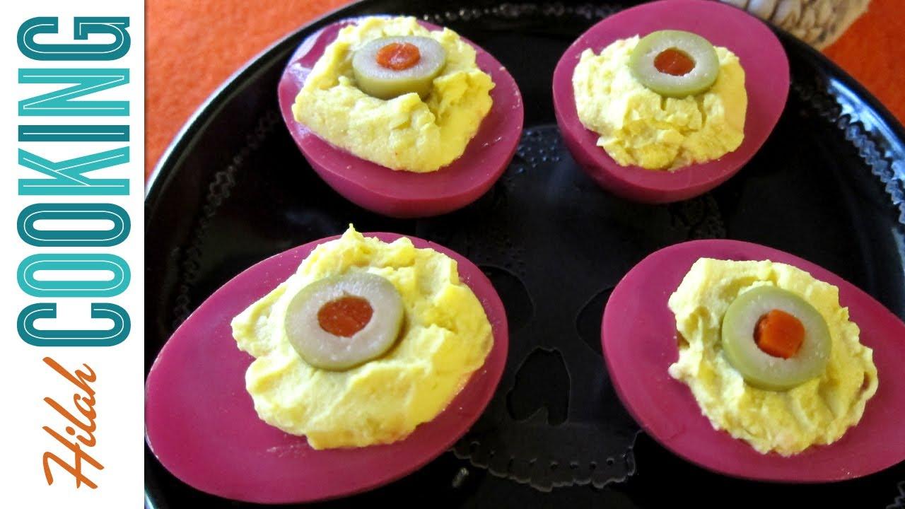 Demon Eyes Pickled Deviled Eggs Plus How To Boil Eggs