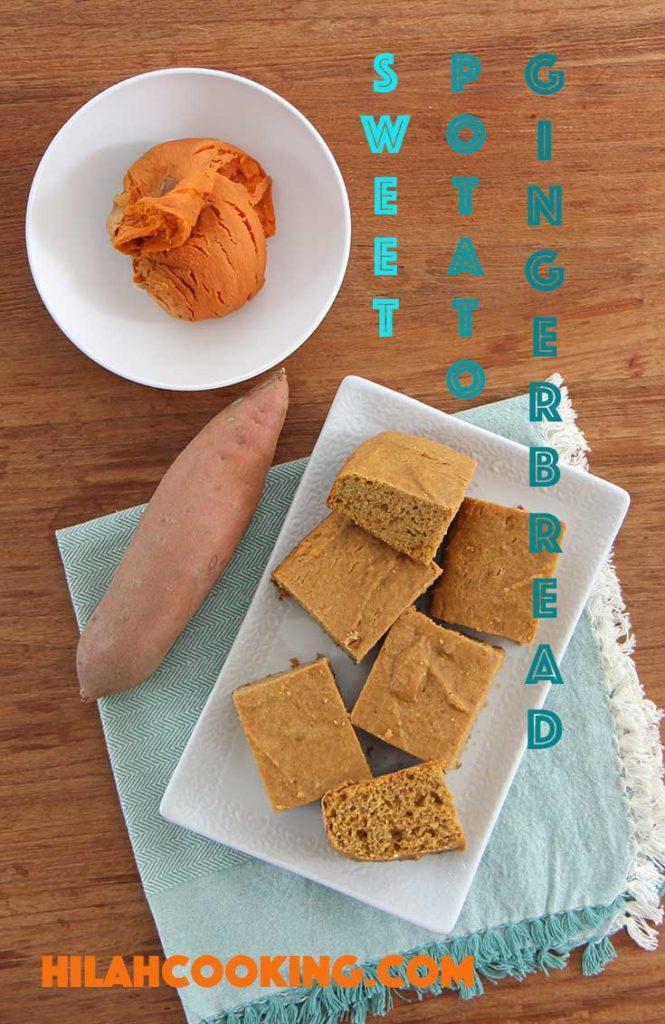 sweet potato gingerbread recipe
