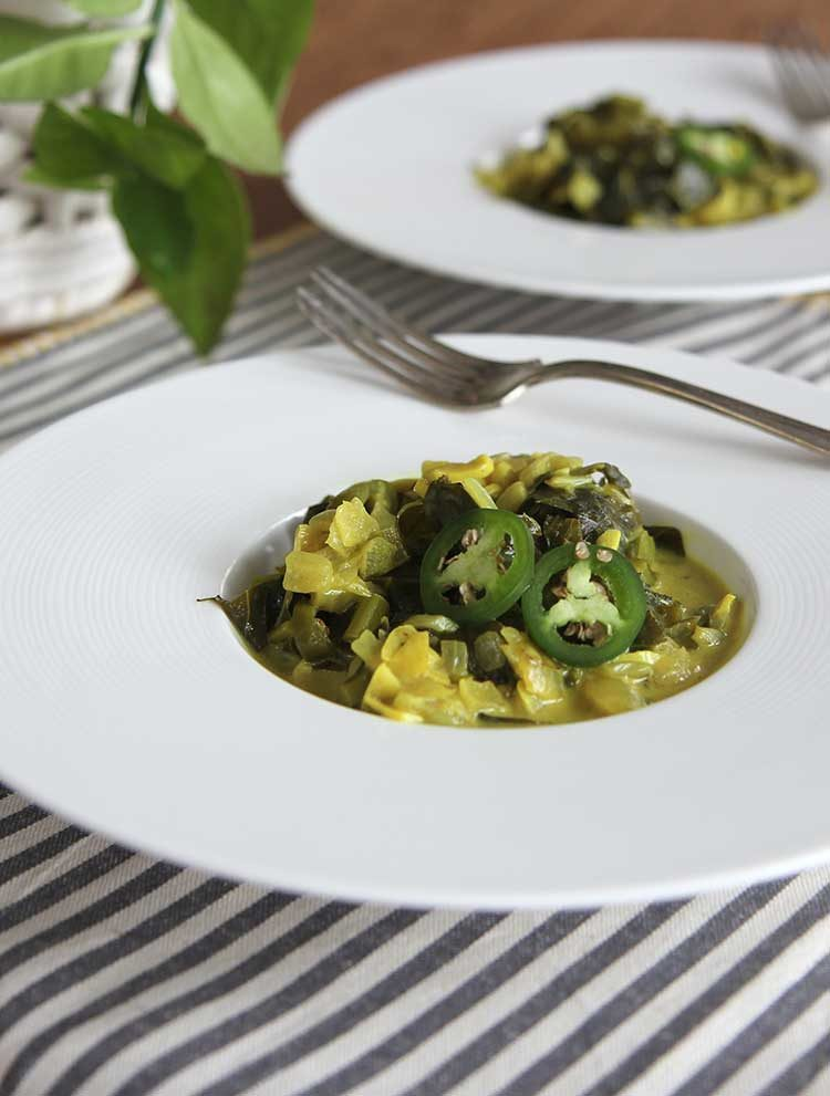 curried collard greens