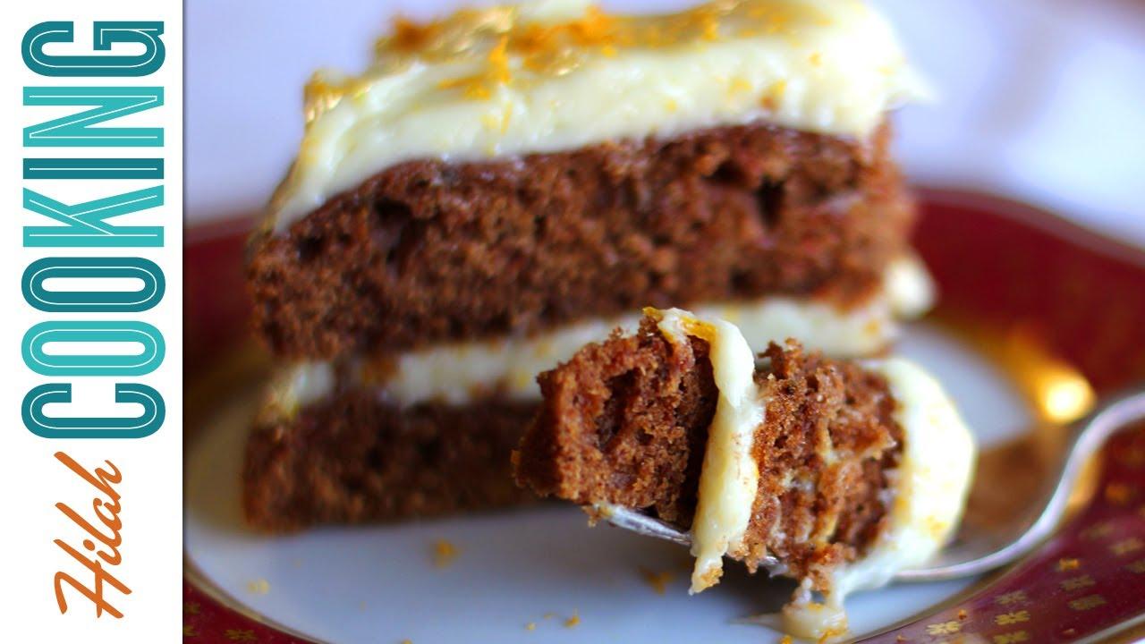 Carrot Cake Recipe How To Make Carrot Cake Video Recipe