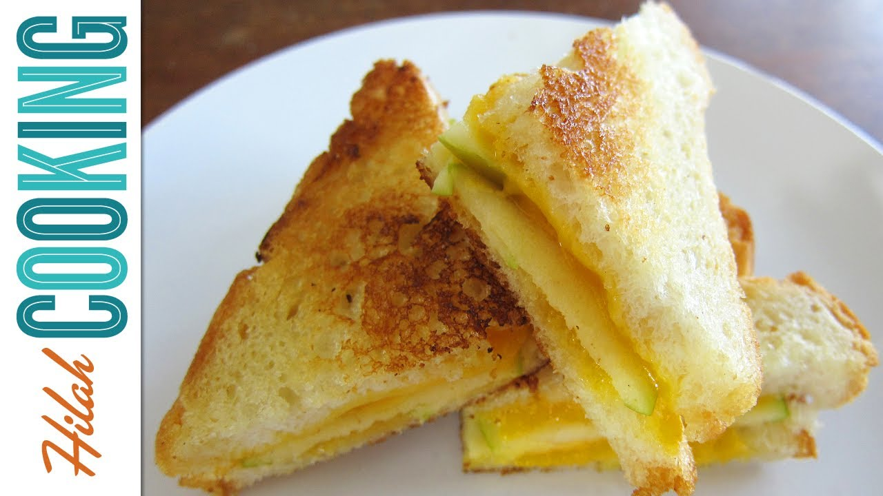 Fancy Gourmet Grilled Cheese Sandwiches - Hilah Cooking