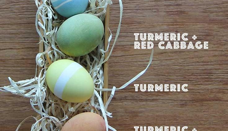 Natural Easter Egg..