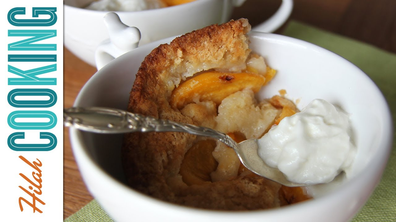How To Make Peach Cobbler Hilah Cooking