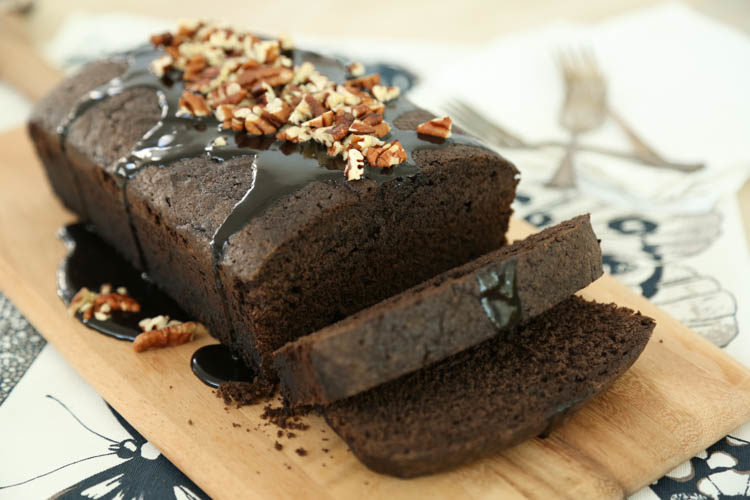 Chocolate Pound Cake Video (scroll down for printable recipe)