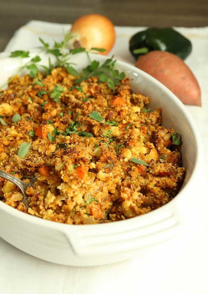 chorizo cornbread dressing recipe