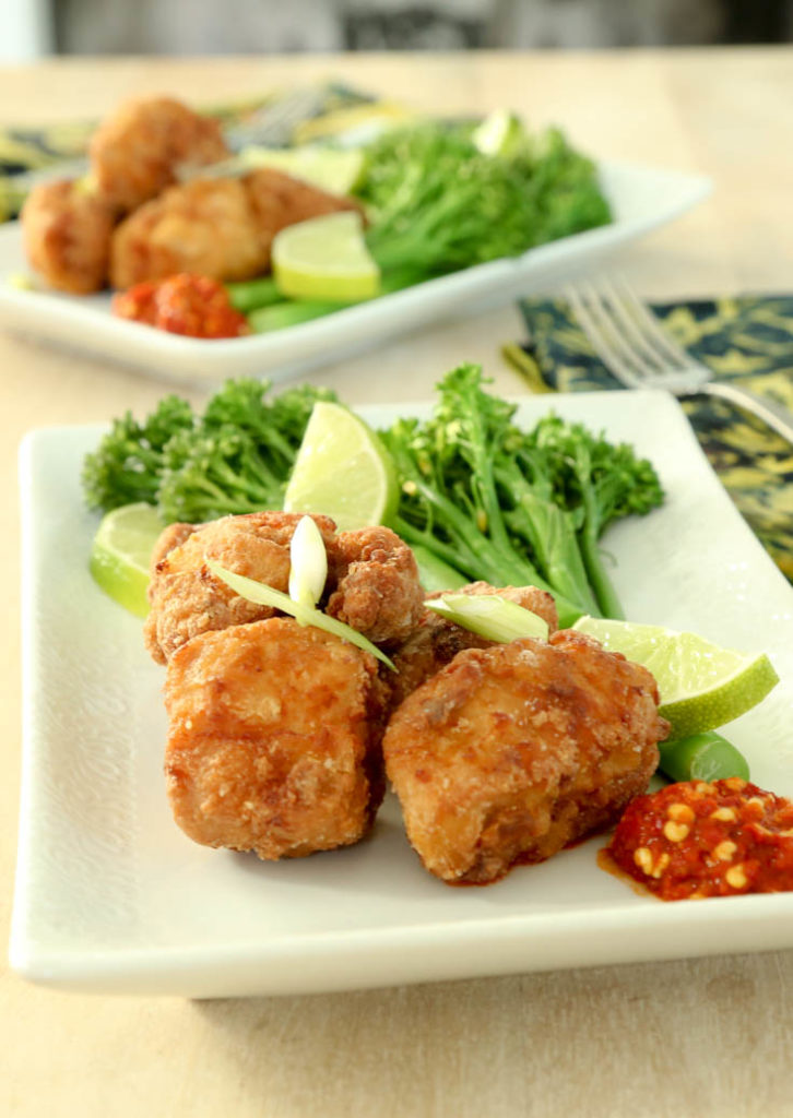 ginger fried chicken recipe