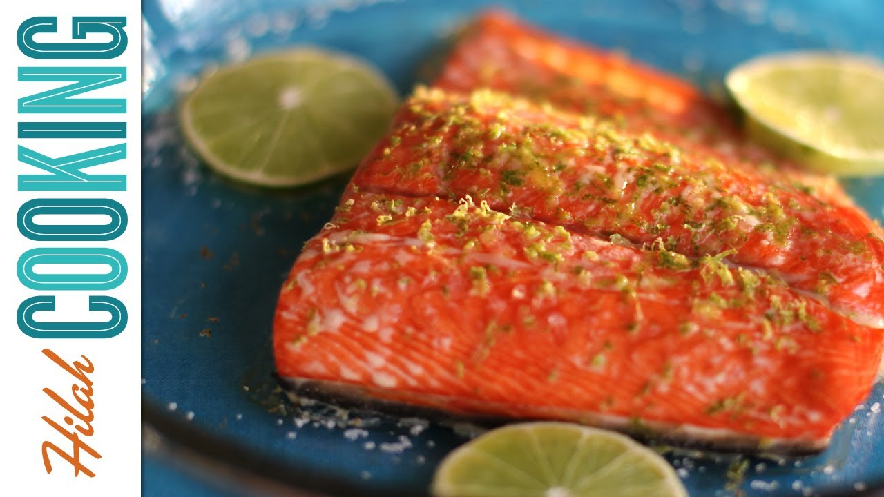 How To Cook Salmon: Maplelime Baked Salmon Hilah Cooking