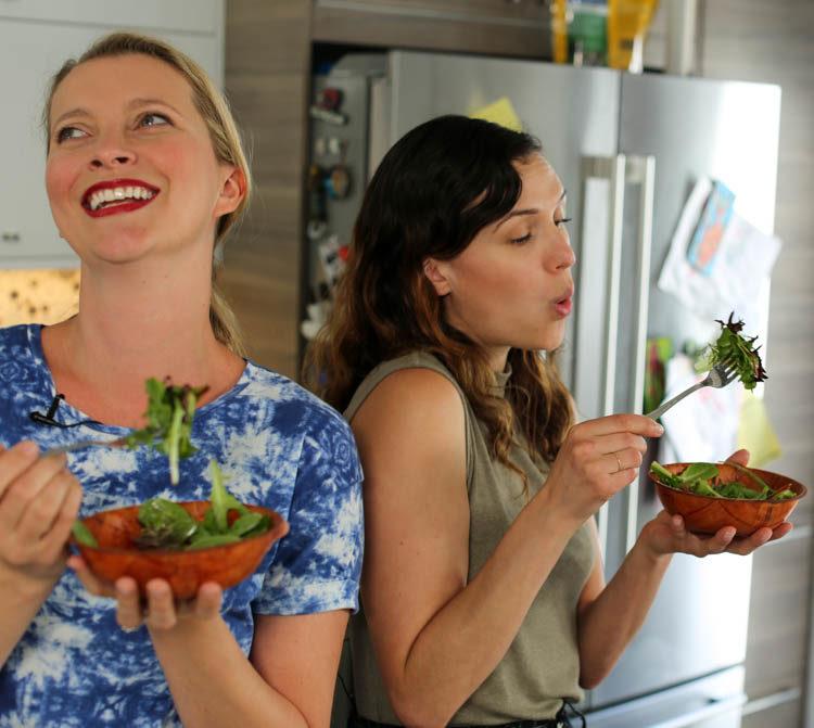 salad with adriene