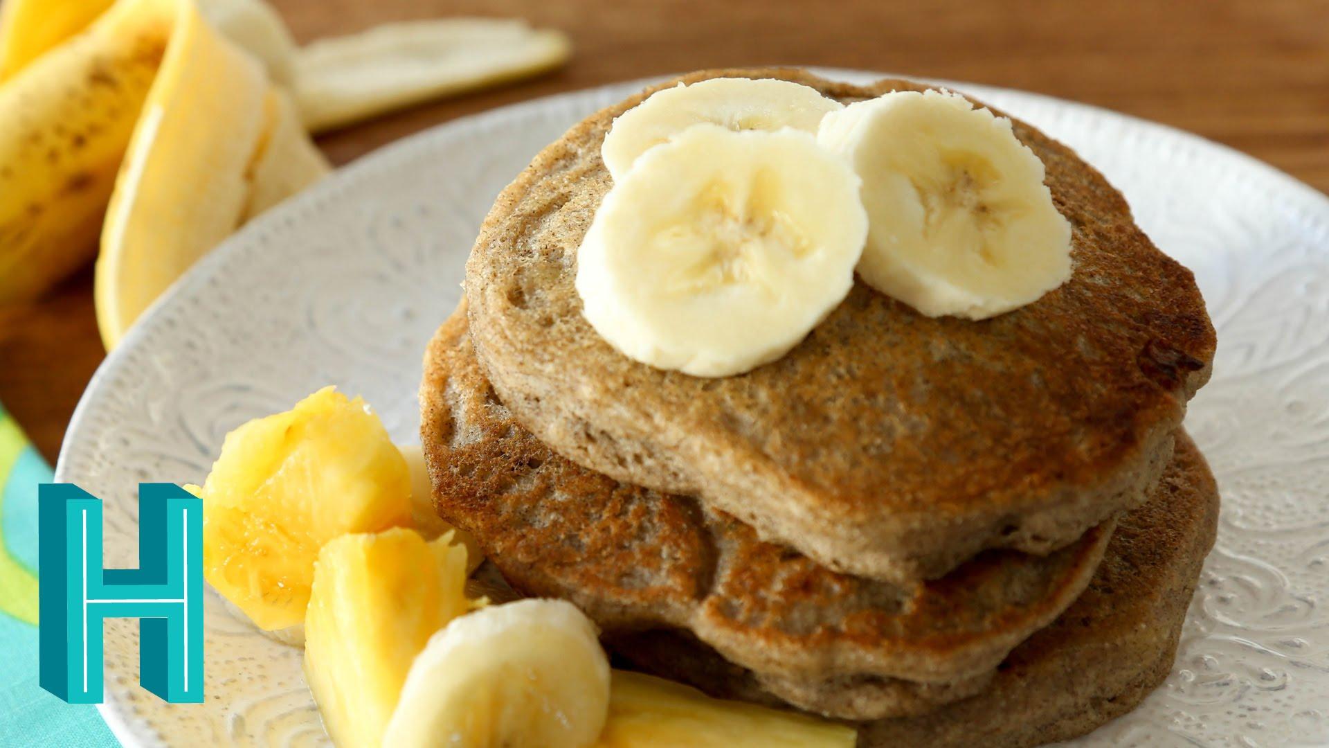Banana pancakes egg free pancake recipe hilah cooking ccuart Choice Image