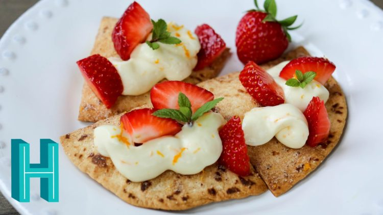 Strawberry Nachos
