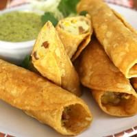 Potato Taquitos | Tacos Dorados de Papa