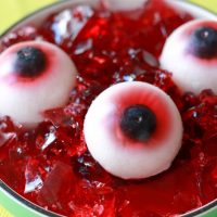 Gummy Eyeballs for Halloween!