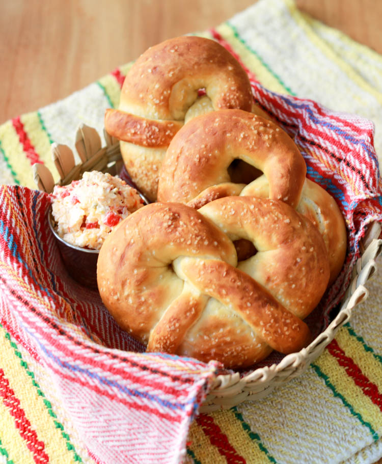 how to make homemade soft pretzels without yeast