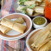Vegetarian Tamales..