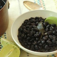 Smoky Black Beans