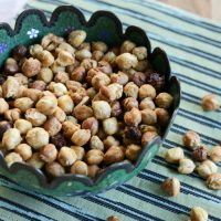 Roasted Chickpeas!