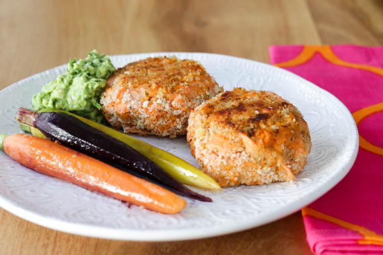 salmon sweet potato croquettes