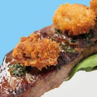 Surf and Turf: Steak with Oysters