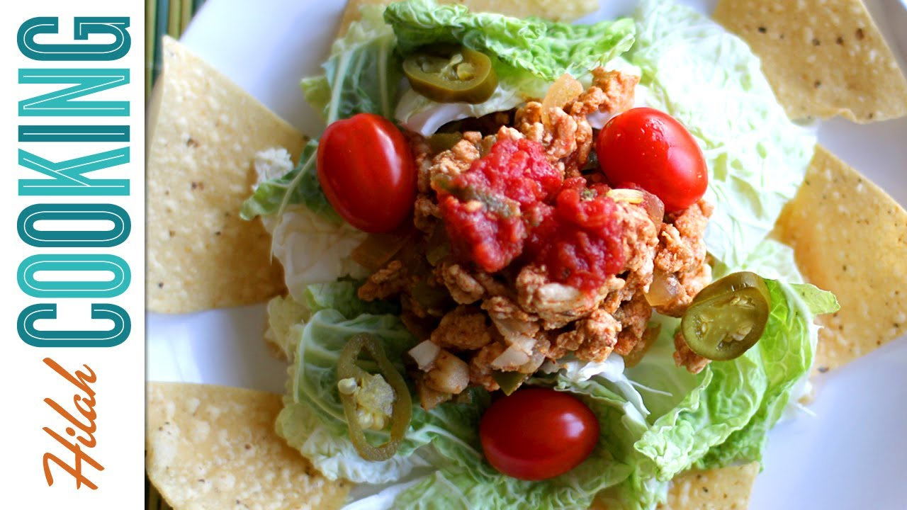 Turkey breast taco salad