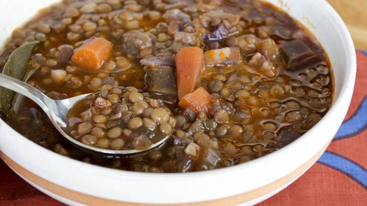 Simple Lentil Soup..