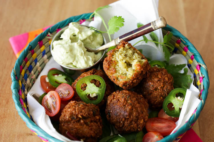 jalapeno falafel recipe