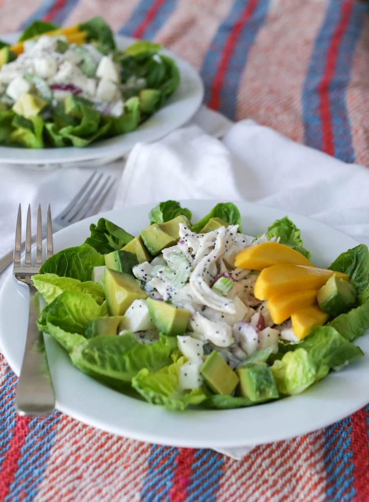 california chicken salad