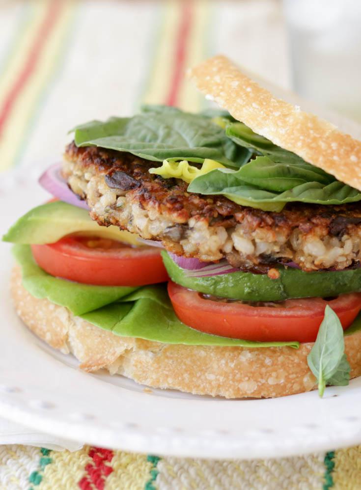 homemade gardenburger recipe