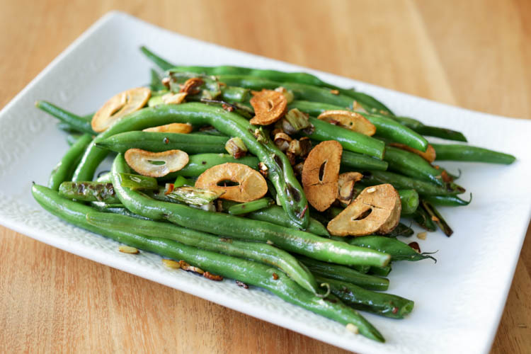 garlic green beans