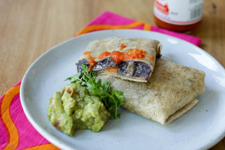 homemade microwaveable burritos