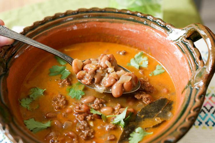 instant pot chorizo beans