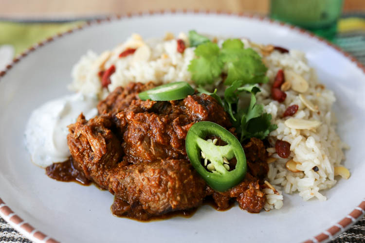 Easy lamb curry easy lamb curry reminiscent of lamb vindaloo lamb stew flavored with onion garlic forumfinder Image collections