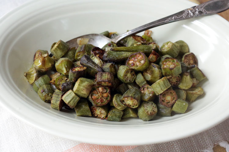 Why roasted okra?? How to roast okra in the oven