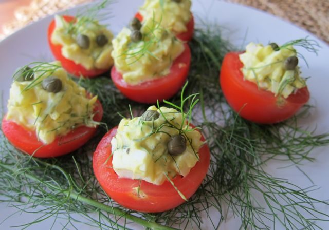 Egg Salad Tomatoes