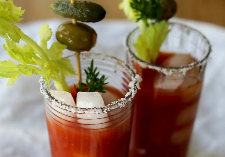 Finally, a homemade Bloody Mary mix that is actually delicious. With a little heat and a little more umami, this has fewer ingredients than some mixes but it's the only one I ever want to drink again