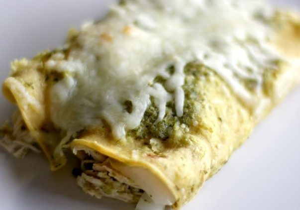 Chicken Enchilada Recipe (Enchiladas Verdes)
