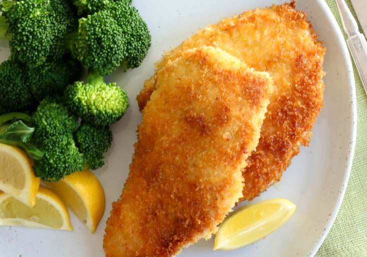 chicken milanesa recipe