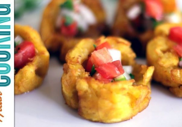 Fried Plantains (Tostones!)