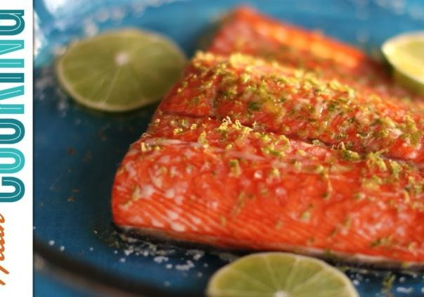 How to Cook Salmon: Maple-Lime Baked Salmon
