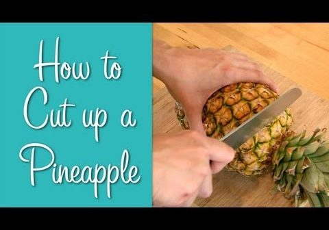 Video thumbnail for youtube video How to Cut Pineapple - Hilah Cooking