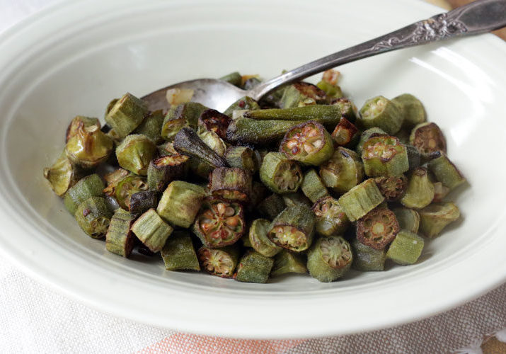 roasted okra how to roast okra