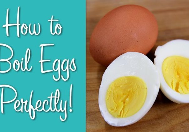Learn to Cook: How to Boil Eggs