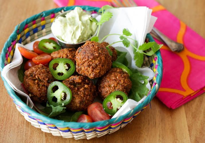 spicy falafel recipe